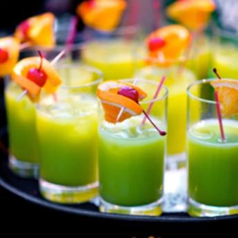 коктейль зеленая обезьяна
