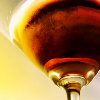 Коктейли на основе мартини