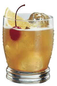 Рецепт коктейля «Виски сауэр» (Whiskey Sour cocktail)