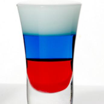 Коктейль Флаг России (Российский флаг)