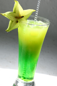 2 рецепта коктейля Зеленая фея (Green fairy cocktail)