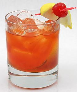 Старомодный коктейль Олд фэшнд (Old Fashioned cocktail)