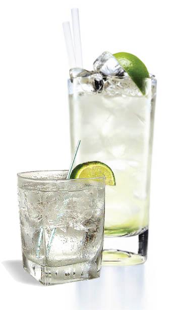 Коктейль Водка с тоником (Vodka tonic cocktail)