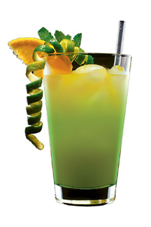 Коктейль с мартини бьянко Морячок Попай (Popeye the Sailor cocktail)