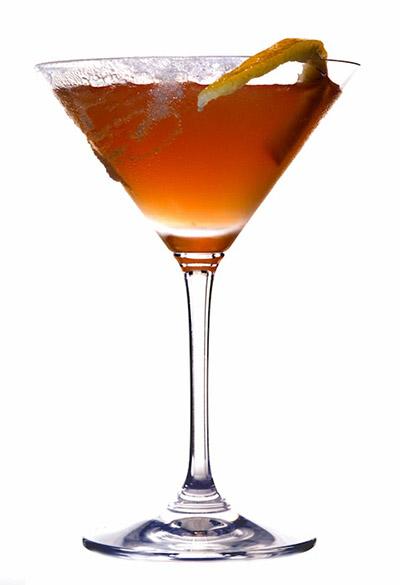Коктейль с Чинзано Сладкий соблазн (Sweet Seduction cocktail)