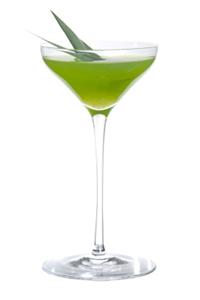 Зеленый коктейль Запретный плод (Forbidden Fruit cocktail)