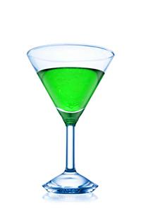 Мартини-коктейль Карузо с лёгким привкусом мяты