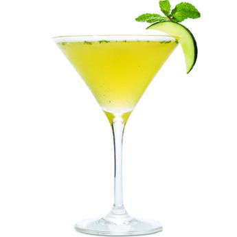 Зеленый дублинский яблочный коктейль