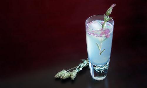 Лаванда-сапфировый Коллинз (Lavender Sapphire Collins)
