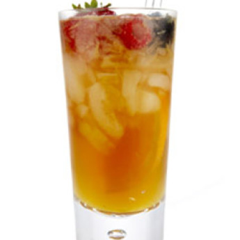 Вишневый кобблер (Шерри кобблер) (Sherry Cobbler cocktail)