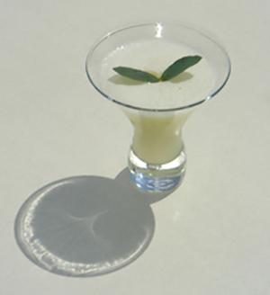 коктейль с приятным ароматом Эвкалиптовый мартини (Eucalyptus Martini cocktail)