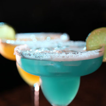 Синяя Маргарита (Blue Margarita cocktail)