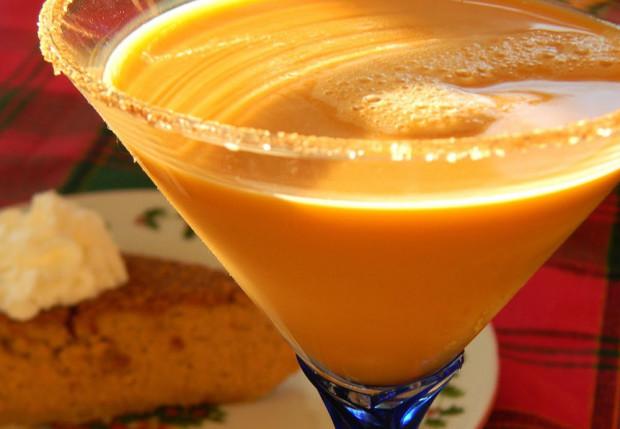 Пряный тыквенный мартини