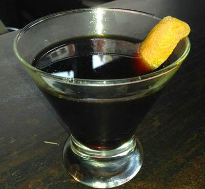 коктейль Черная пятница