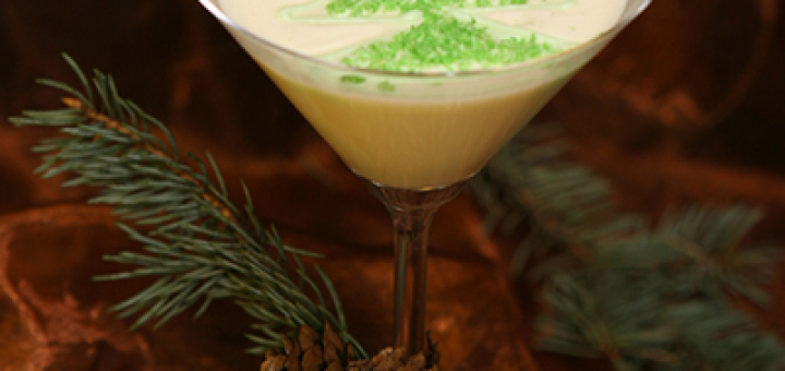 Новогодний коктейль Снежный лес