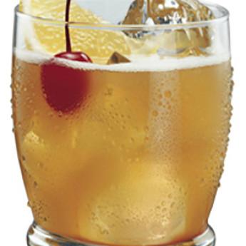 Рецепт коктейля Виски сауэр (Whiskey Sour cocktail)