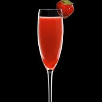 Рецепт коктейля Россини (Rossini cocktail)