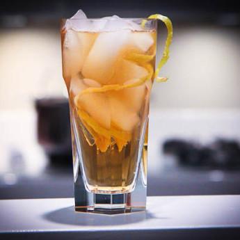 Тонизирующий коктейль Лошадиная шея (Horse's neck cocktail)