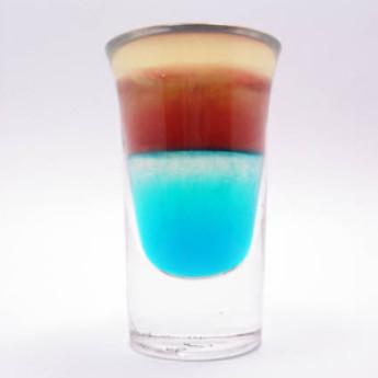коктейль с Бейлисом Голубая луна (Blue Moon cocktail)