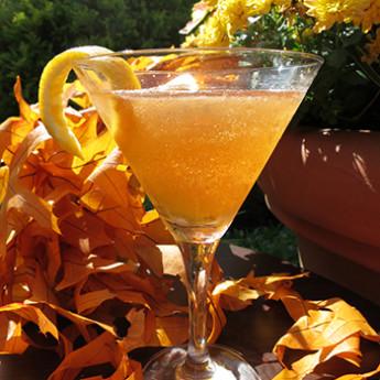 Рецепт коктейля с бренди Осенние листья