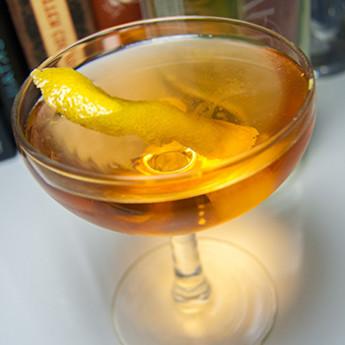 Рецепт коктейля с вермутом Барон (Baron cocktail)