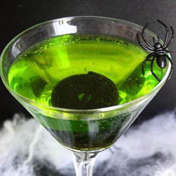 Рецепт коктейля Зеленый вурдалак (Green Ghoul cocktail)