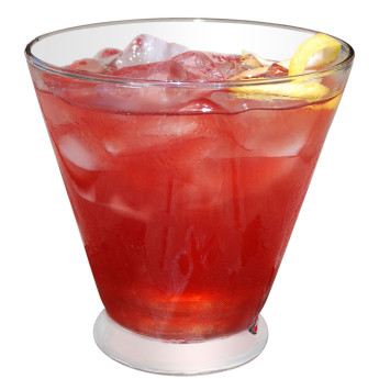 Как приготовить коктейль с клюквой Бельмонтский бриз